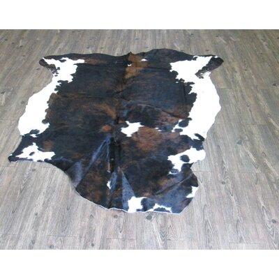 Lynnfield Hand Woven Cowhide Black/Brown Area Rug