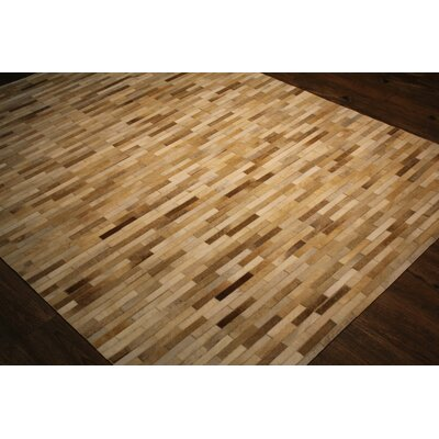 One-Of-A-Kind Cicco Hand-Woven Beige Area Rug