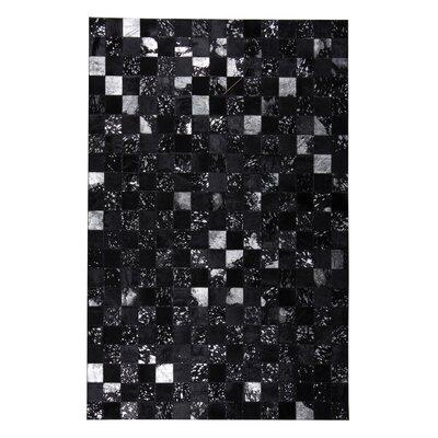 Dillion Hand-Woven Black/Gray Area Rug