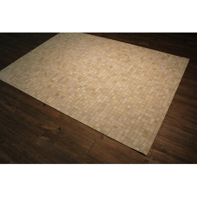 One-Of-A-Kind Manhasset Hand-Woven Off-White Area Rug