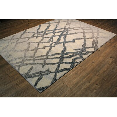 Magpie Blue/Silver Area Rug