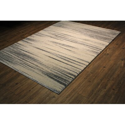Andrew Beige Abstract Area Rug