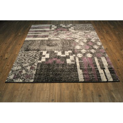 Vogel Contemporary Black/Gray Area Rug