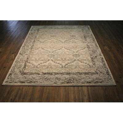Harrill Gray/Beige Area Rug Rug Size: Rectangle 710 x 106