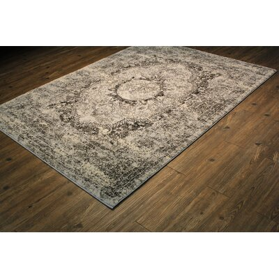 Russell Silver/Gray Area Rug