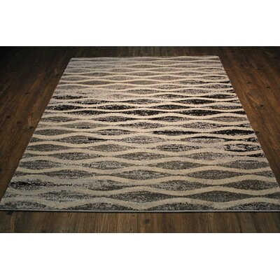 Bosse Contemporary Brown/Tan Area Rug