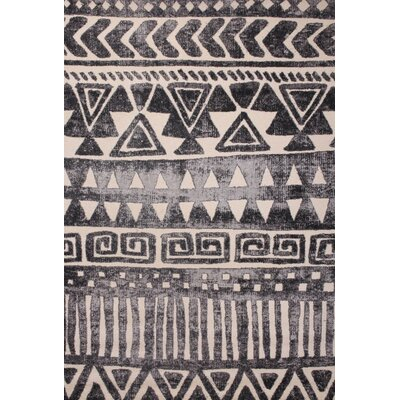 Brogden Ivory/Dark Gray Area Rug