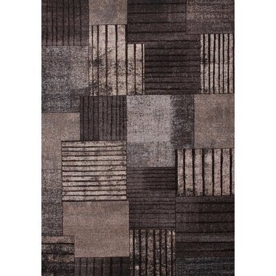 Mafalda Gray/Brown Area Rug