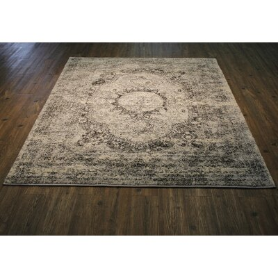 Edmee Gray/Black Area Rug