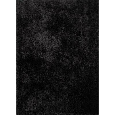 Arriaga Hand Tufted Modern Black Area Rug