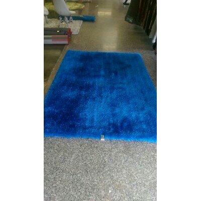 Bathford Hand Tufted Electro Blue Area Rug