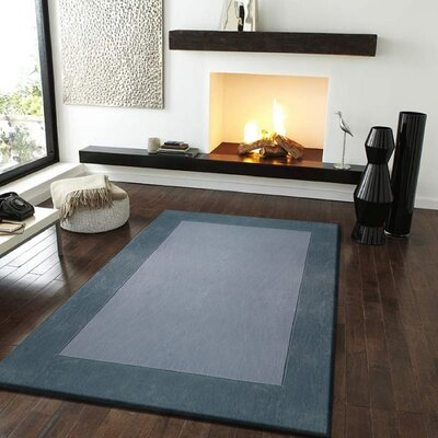 Payeur�Transitional Hand Woven Solid Gray Indoor Area Rug