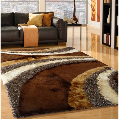 Tamayo Hand-Tufted Brown Indoor Area Rug