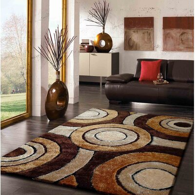 Shoreham Hand-Tufted Brown Indoor Area Rug