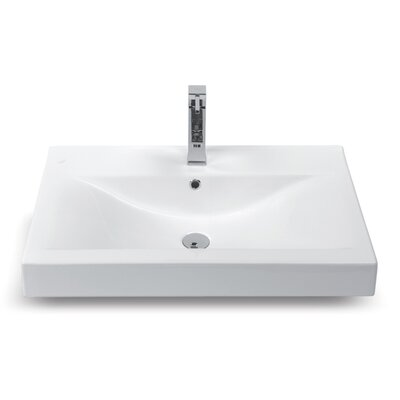 Mona Ceramic Rimming Bathroom Sink