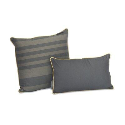 Tonal Stripe Decorative Cotton Pillow Size: 20 H x 20 W x 3.5 D