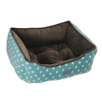Drowzzzy Polka Dots Couch Bed Size: Small (22 L x 18 W), Color: Turquoise