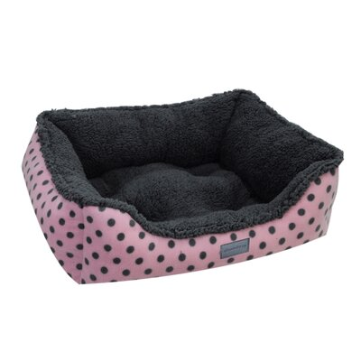 Drowzzzy Polka Dots Couch Bed Size: Large (33 L x 26 W), Color: Pink