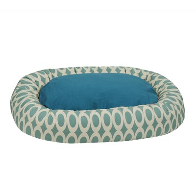Orbits Reversible Donut Bolster Bed Size: Large (41 L x 32 W), Color: Hazel