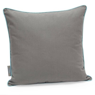Orbits Decorative Cotton Twill Throw Pillow Color: Gray