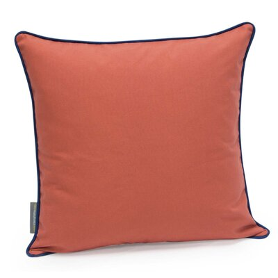Herringbone Decorative Cotton Twill Throw Pillow