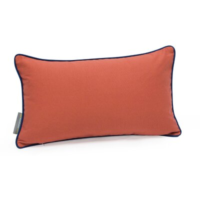 Herringbone Decorative Cotton Twill Lumbar Pillow