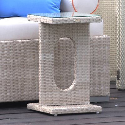 Studio Auxiliary Tee Side Table Finish: Metallic Wash