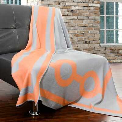 Tea House Throw Color: Myceanean Orange