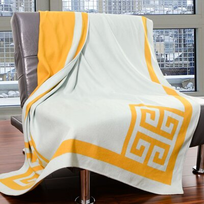 Penthouse Throw Color: Wedgwood
