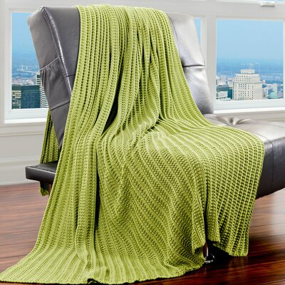 Cotton Throw Color: Sweet Pea