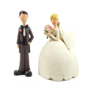 Bride and Groom Figurine Set (Set of 2) 1188-84005