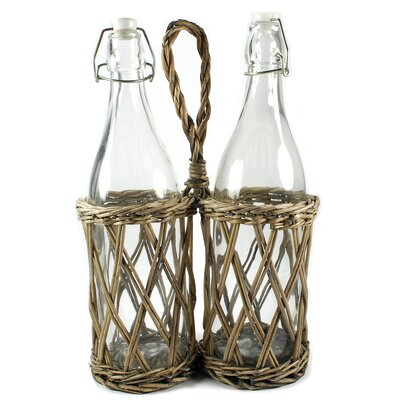 Picnic 2 Bottle Hanging Wine Rack (Set of 2)