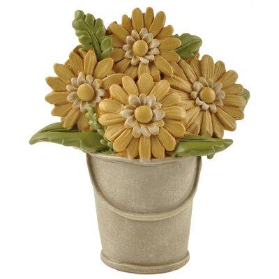 Bucket of Sunflower Figurine 171-11125