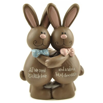 Little Love Chocolate Rabbits Figurine 171-11104
