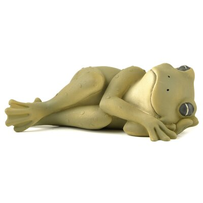 Napping Frog Figurine 171-10966