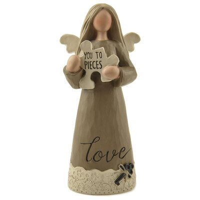 You To Pieces Puzzle Angel Figurine 171-11116