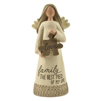 Love Puzzle Piece Angel Figurine 171-11117