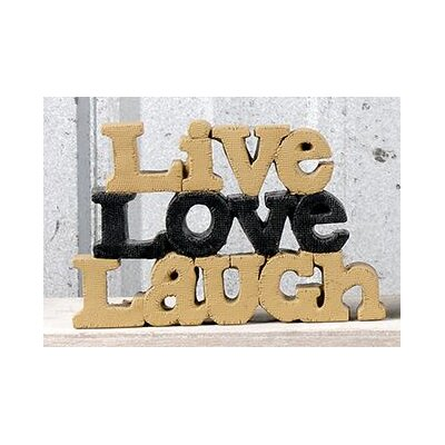 Live Love Laugh Letter Block 1311-88309