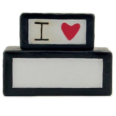 I Love Fill-in Block Figurine 1111-84660