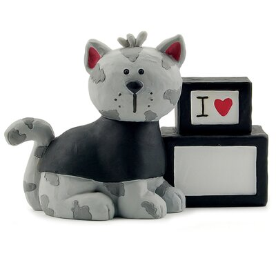 I Love Fill-in Block with Cat Figurine 1111-84663