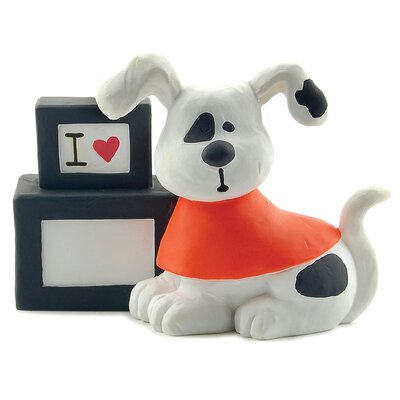 I Love Fill-in Block with Dog Figurine 1111-84676