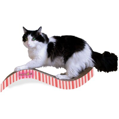 Scratch n Shapes Medium Purrfect Stretch Recycled Paper Scratching Board Pattern: Valentine B