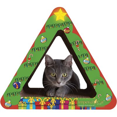 Scratch n Shapes Christmas Tree Recycled Paper Scratching Post