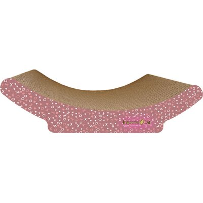 Scratch n Shapes Cozy Curl Recycled Paper Scratching Board Pattern: Valentine C