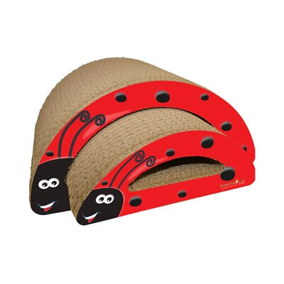 Scratch n Shapes 2 Piece Lady Bug Recycled paper Scratching Board