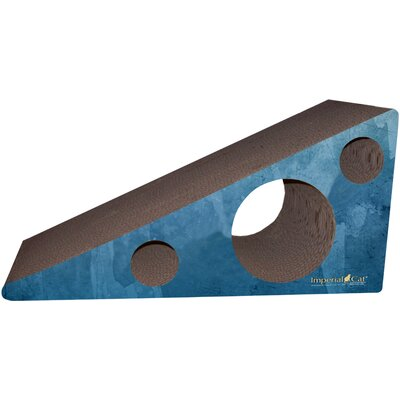 Scratch n Shapes Wedge Recycled paper Scratching Post Color: Antique Blue