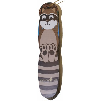 Scratch n' Shapes Raccoon Hanging Recycled Paper Scratching Board