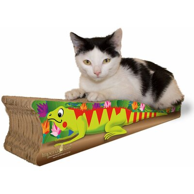 Scratch n Shapes Small Iguana Recycled Paper Scratching Board