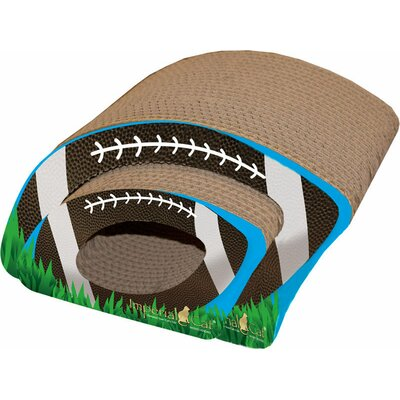 Scratch n Shapes Football Combo Recycles Paper Scratching Board