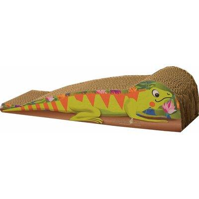 Scratch n Shapes Medium Iguana Recycled Paper Scratching Board